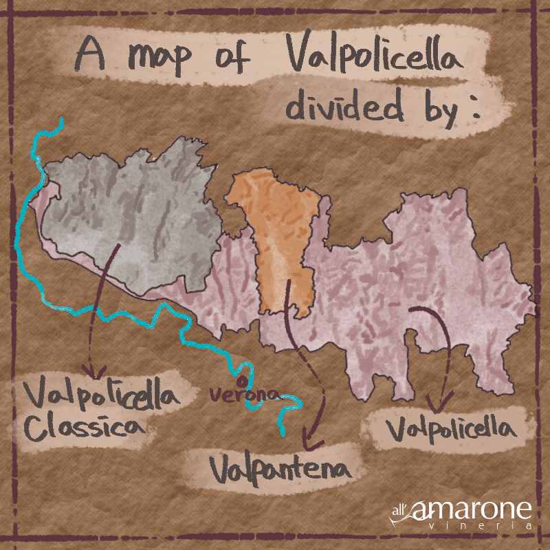 A Map of the Valpolicella